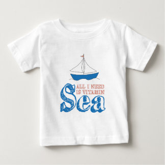 Nautical Quote Baby T-Shirt