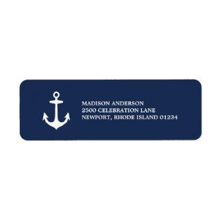 Nautical | Return Address Label