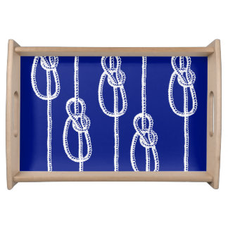 Nautical Ropes Serving Tray