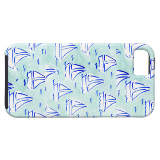 Nautical Sailboat Iphone Case