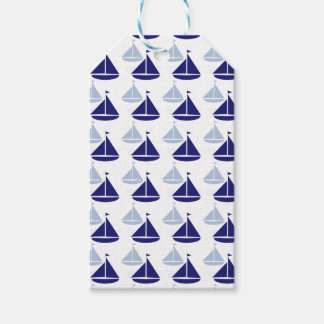 Nautical Sailboats Gift Tags