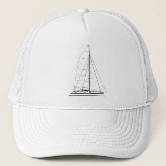 Nautical Sailing inspired Outremer Catamaran Cap