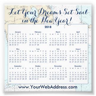 Nautical Sailing Quote • Florida • Calendar Promo Photo Print