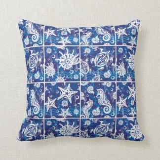 Nautical Sea Elements No. 2 Pillow