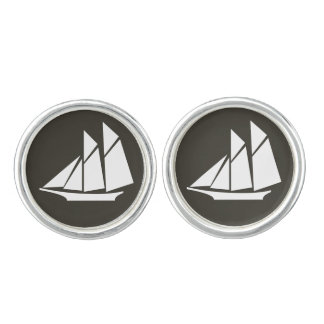 Nautical Ships Cufflinks