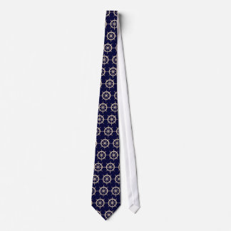 Nautical Ships Wheel tie