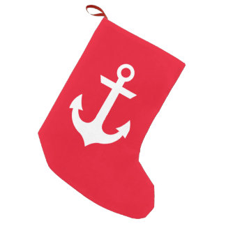 Nautical Small Christmas Stocking