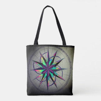 Nautical Star Grunge Bag