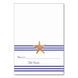 Nautical Starfish - Escort Card