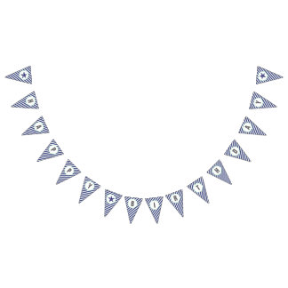 Nautical Starfish Happy Birthday Banner