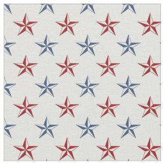 Nautical Stars Fabric