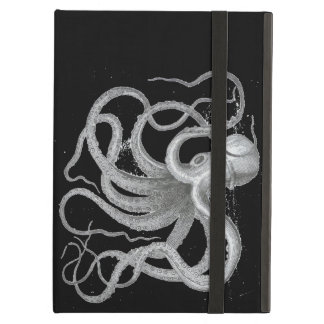 Nautical Steampunk Octopus Vintage Kraken Drawing Case For iPad Air