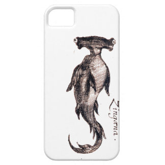 Nautical steampunk vintage science kraken drawing barely there iPhone 5 case