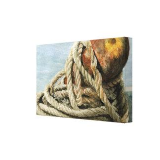 Nautical Still Life Canvas Print