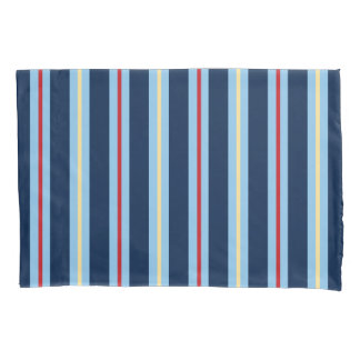 Nautical Striped Pillow Cases