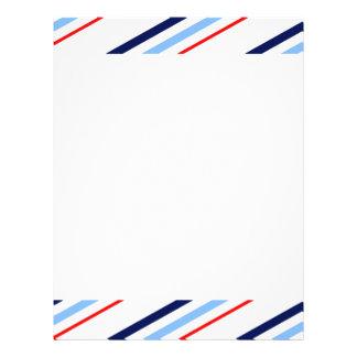 Nautical Stripes Flyer