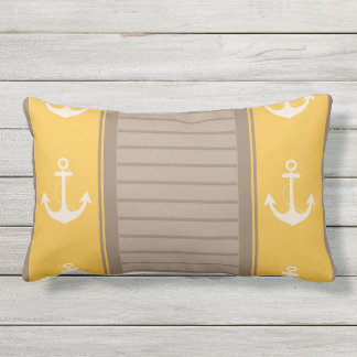 Nautical Stylish Design Lumbar Pillow