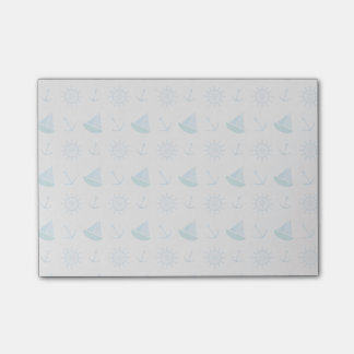 Nautical Summer Fun Pattern Post-it Notes