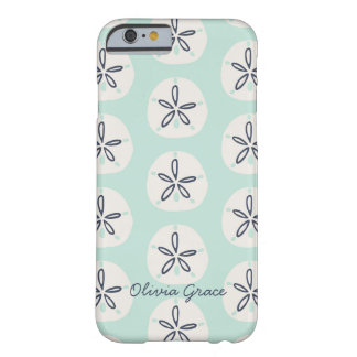 Nautical Summer Sand Dollar Barely There iPhone 6 Case