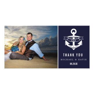 Nautical Thank You   Photo Card