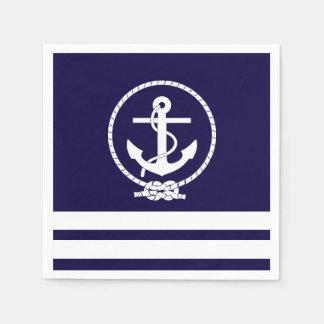 Nautical Theme Disposable Serviette