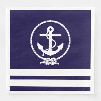 Nautical Theme Disposable Serviettes