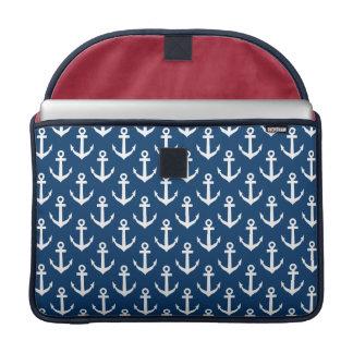 Nautical theme MacBook Pro laptop sleeve | 15 inch