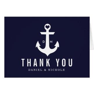 Nautical Theme Thank You Cards | Weddings