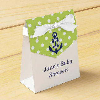 Nautical Themed Boy Baby Shower Favor Box! Favour Box