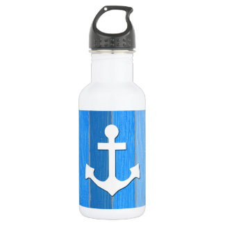 Nautical themed design 532 ml water bottle