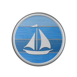 Nautical themed design bluetooth speaker