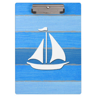 Nautical themed design clipboard