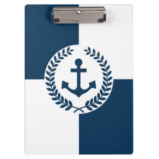 Nautical themed design clipboard