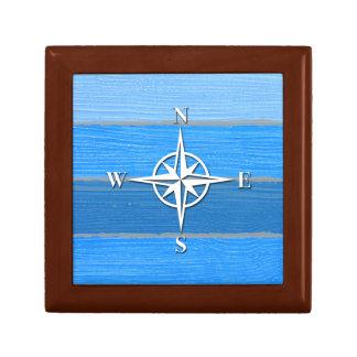 Nautical themed design gift box