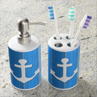 Nautical themed design toothbrush holders