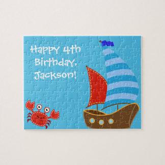 Nautical Themed Puzzle- Birthday Gift Idea Jigsaw Puzzle