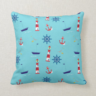 Nautical Throw Cushion