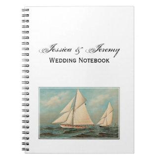 Nautical Vintage Yachts Racing #1 Notebooks