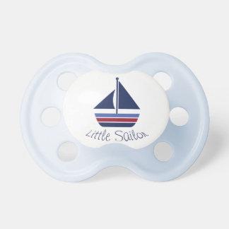 Nautical Wave Little Sailor Baby Sailboat Pacifier