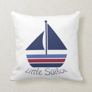 Nautical Wave Nursery Little Sailor Sailboat Cushions