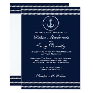 Nautical  - Wedding Invitation
