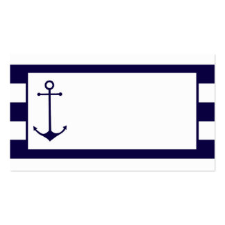 Nautical : Wedding Place Cards : Business Cards