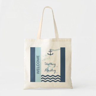 Nautical Wedding Welcome Bags