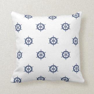 Nautical Wheel Cushion