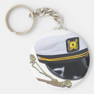 NauticalHatWhistle112010 Key Ring