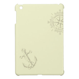Nautik - Ipad wraps with anchor and compass Cover For The iPad Mini