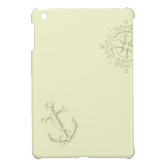 Nautik - Ipad wraps with anchor and compass iPad Mini Covers