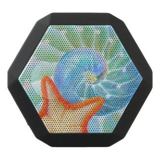 Nautilus And Starfish Black Bluetooth Speaker