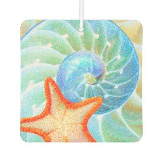 Nautilus And Starfish Car Air Freshener