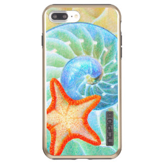 Nautilus And Starfish Incipio DualPro Shine iPhone 8 Plus/7 Plus Case